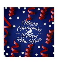 清新的圣诞节卡片设计