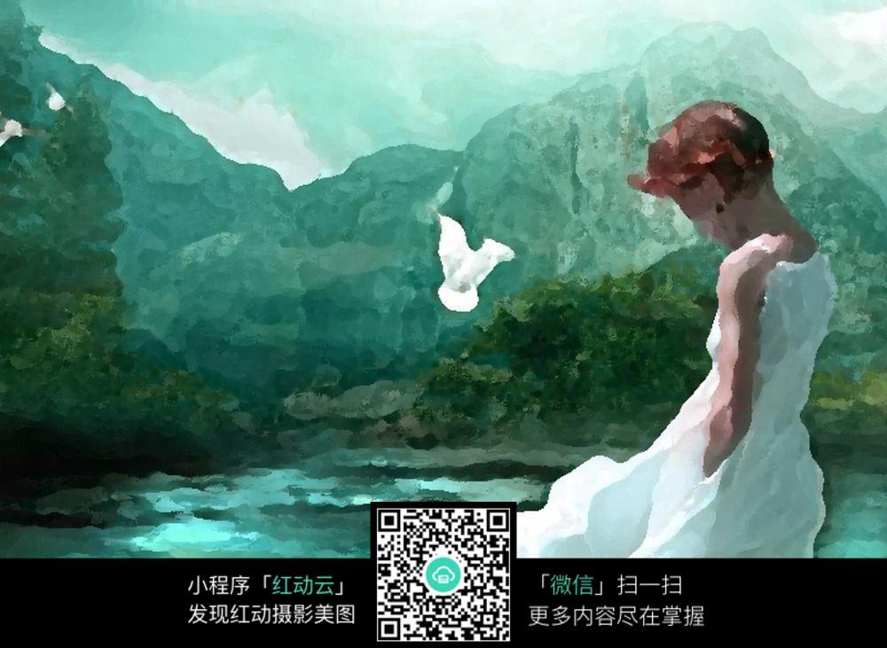 免费素材 图片素材 漫画插画 自然风景 人物风景油画  请您分享: 红动