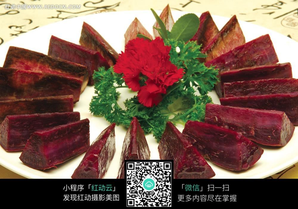 台湾红薯_台湾红薯烧卤肉图片_餐饮美食图片