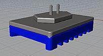 电蚊香3d模型