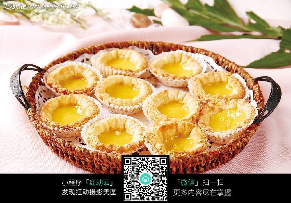 免费素材 图片素材 餐饮美食 中华美食 岭南鸡蛋挞