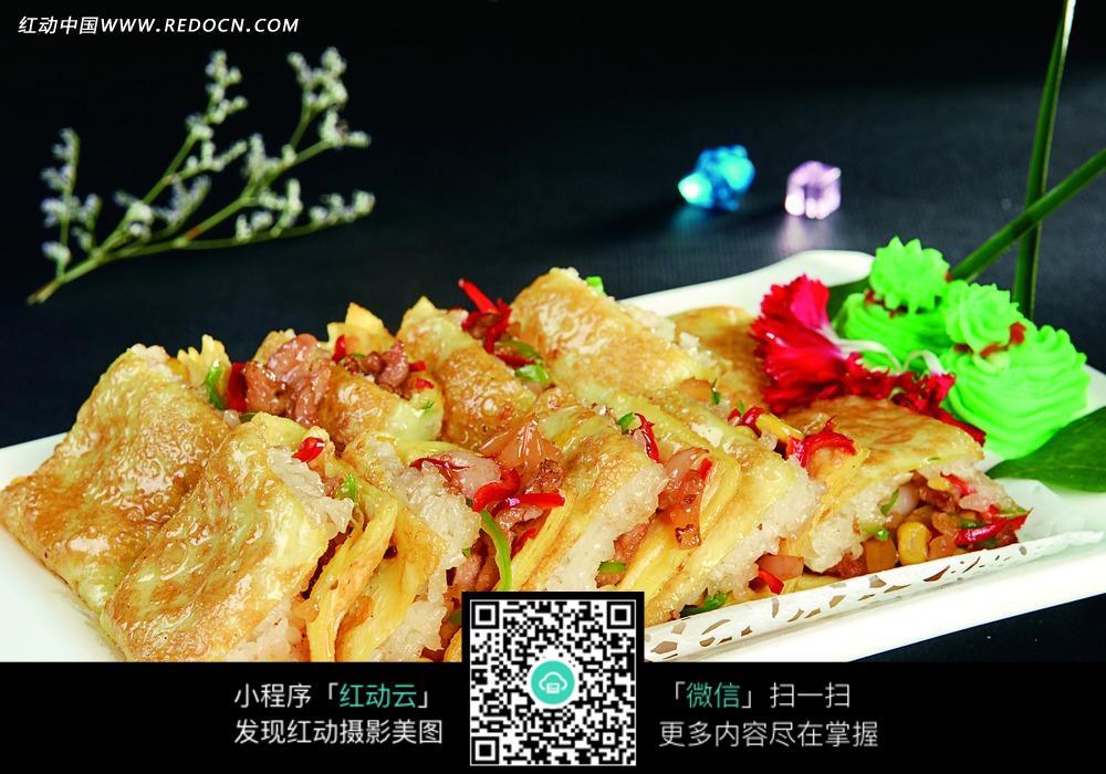 三鲜煎豆皮图片免费下载 编号3467899 红动网