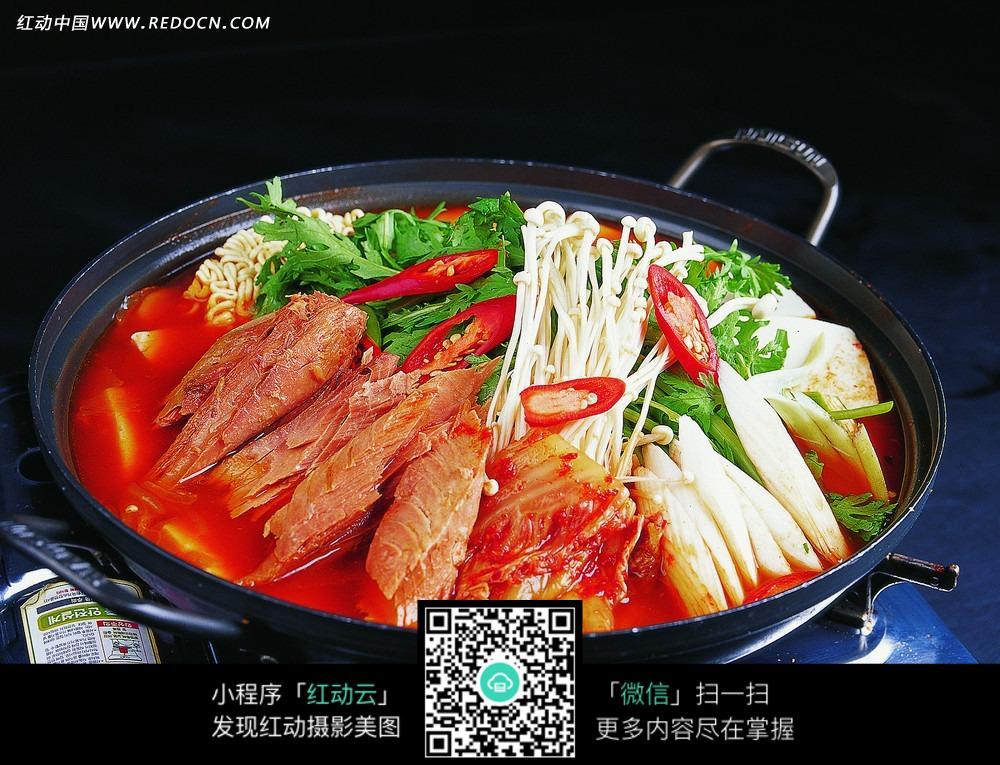 金枪鱼泡菜火锅