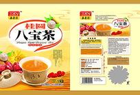 桂圆八宝茶包装设计