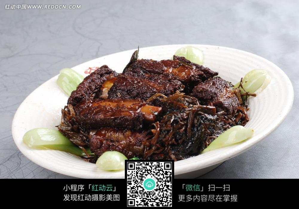 汉顿夫子巷的干梅菜蒸美食图片-排骨图片|排骨图库精的用法图片