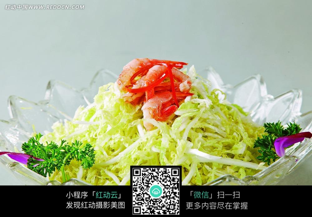 虾干白菜心