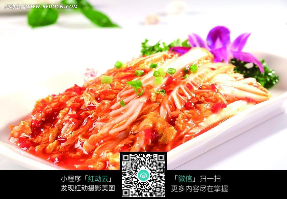韩式渔家泡菜图片_中华美食图片