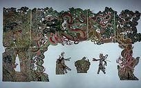 皮影白蛇传收青蛇