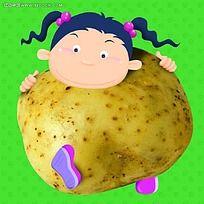 土豆小女孩
