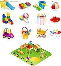 儿童玩具图标