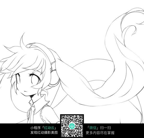 日本手绘漫画图片