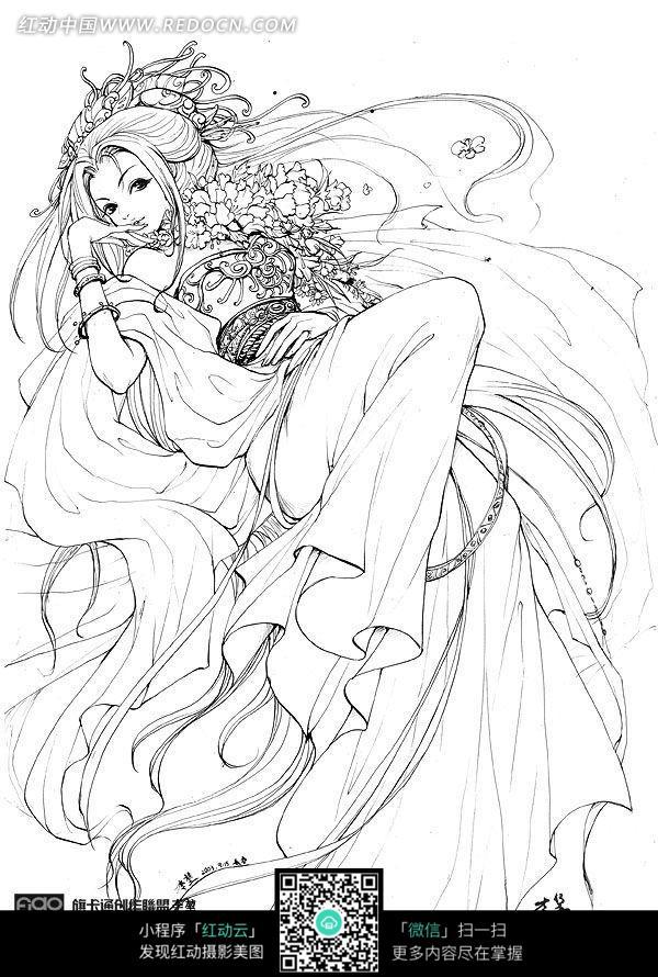 古典美女漫画
