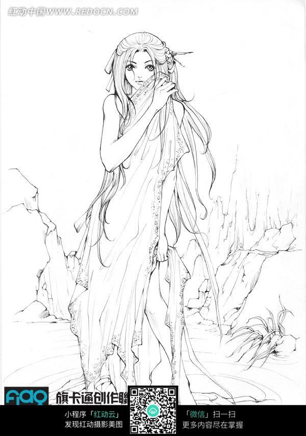 美女出浴漫画