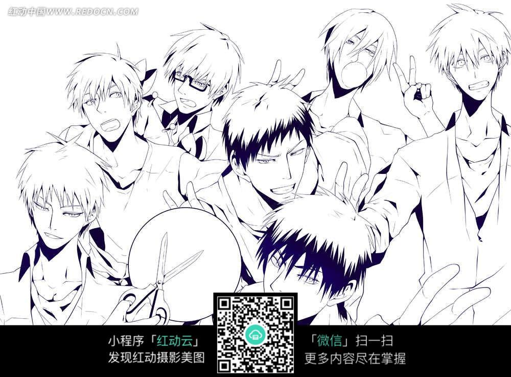 日本少年漫画图片