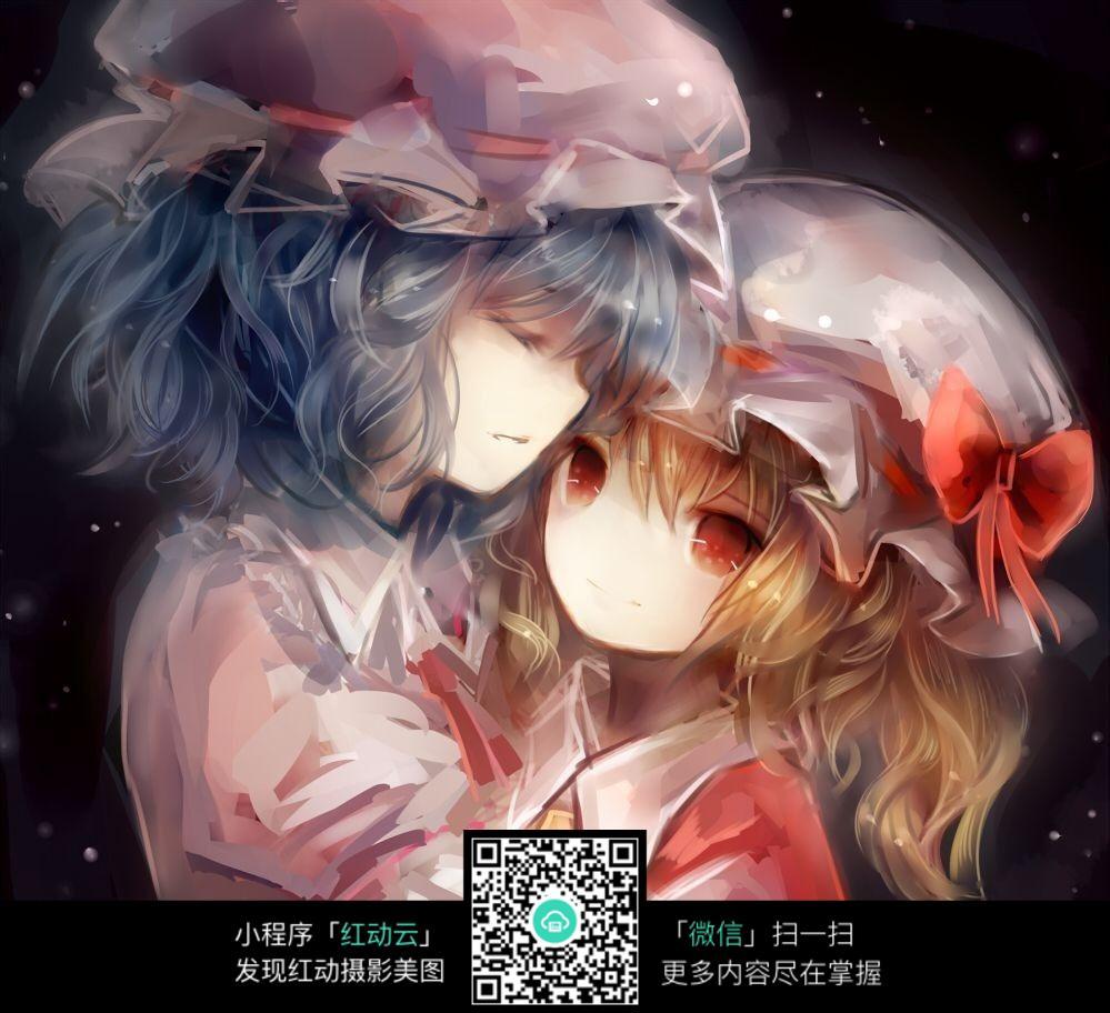 卡通浪漫情侣图片_人物卡通图片