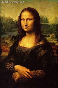 蒙娜丽莎油画