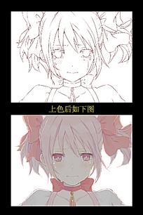 伤心流眼泪的女孩