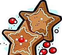 矢量五角星蛋糕