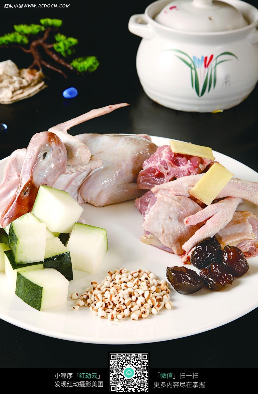 冬瓜薏米煲老鸭图片