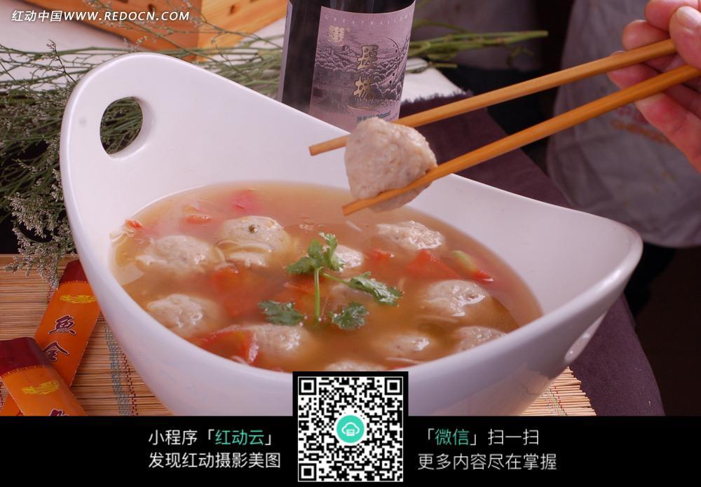 番茄圆子汤