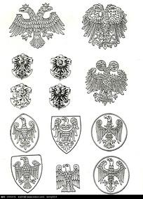 国外精品徽章图案设计素材