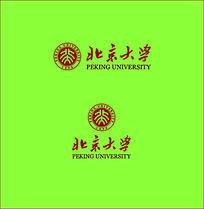 北京大学校徽标志
