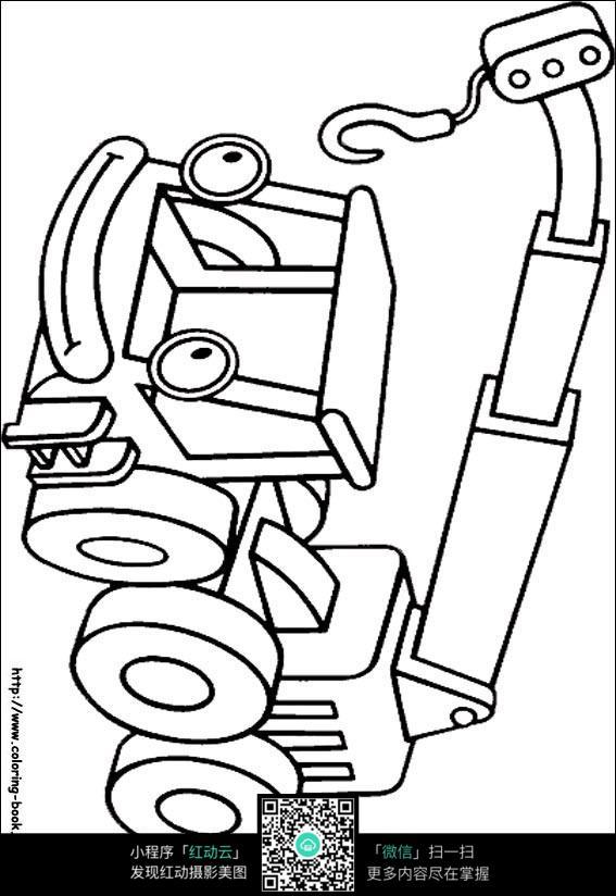 卡通表情表情包图黄字线描图片吊车图片