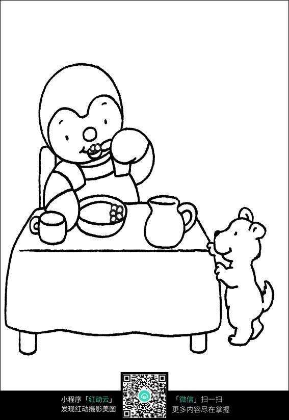 早餐机设计手绘