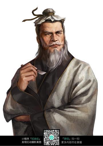 华佗手绘画像