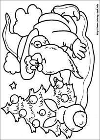 可爱圣诞老人简笔画