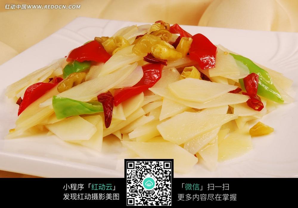 干锅土豆片菜品美食