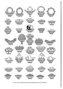 西藏佛教用具线稿