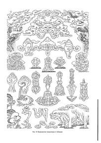 西藏佛教用品装饰品素材