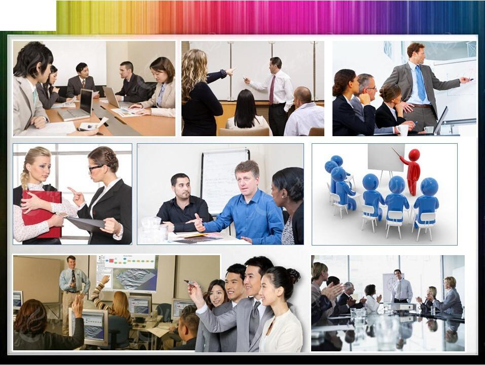 商务会议培训ppt模板图片
