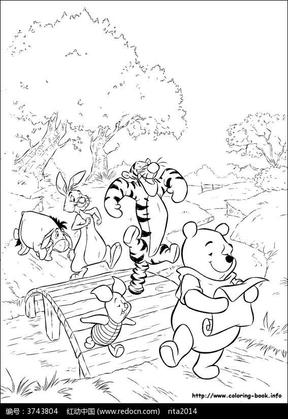 小熊维尼图片_人物卡通图片