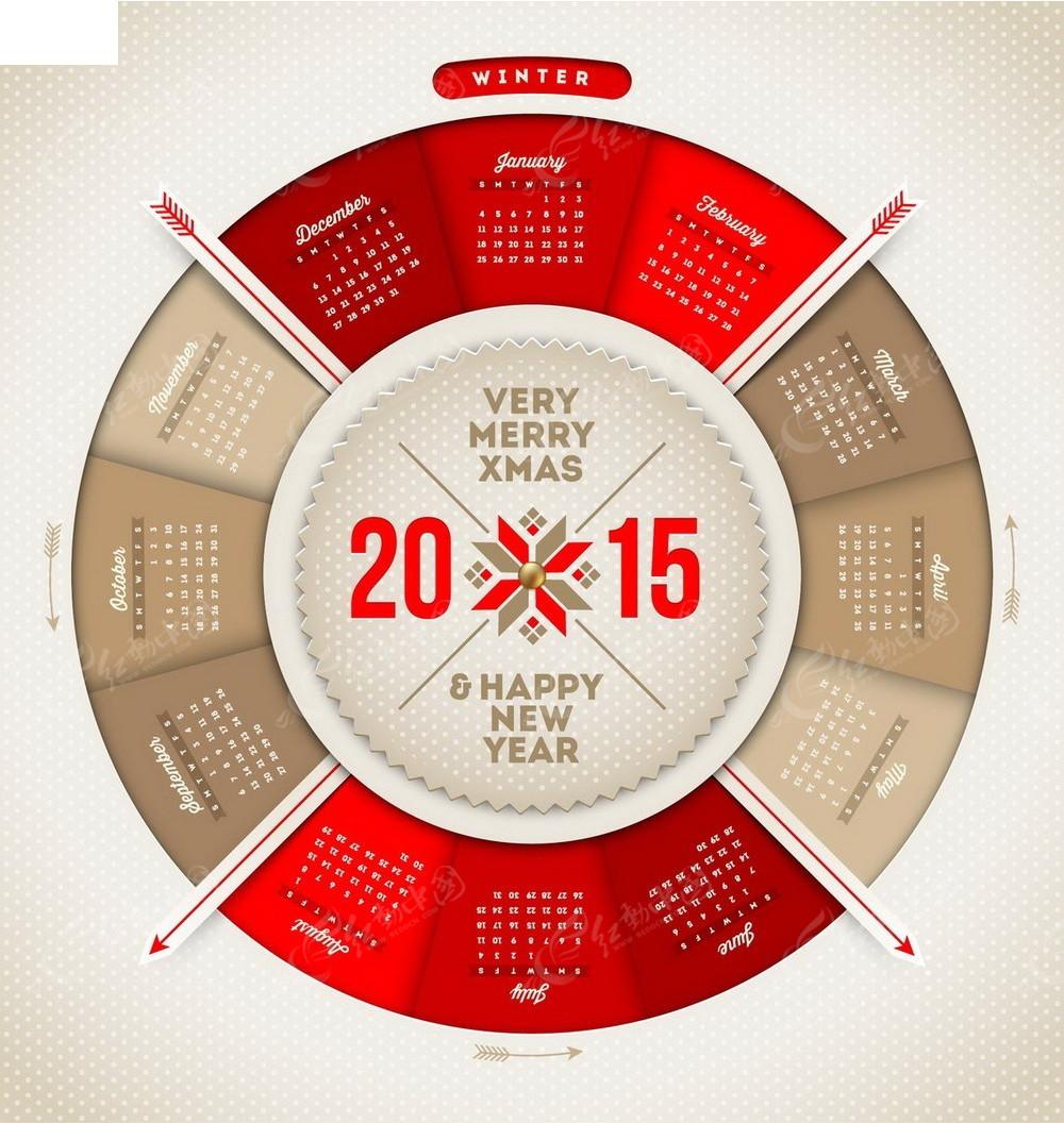 2015�$9.��j�:i[Z�`_转盘背景2015年日历