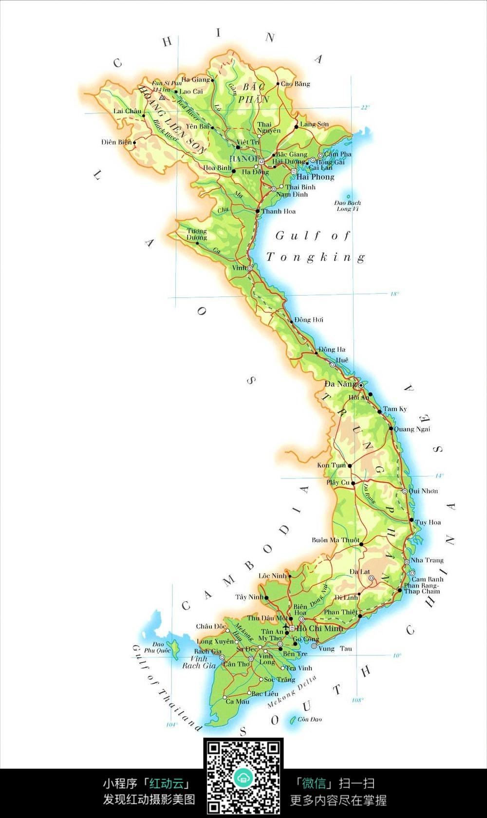 越南地图jpg
