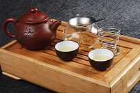 茶盘茶具摄影图片