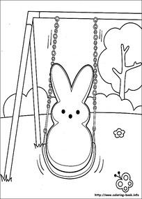 树枝上荡秋千的女孩_人物卡通图片