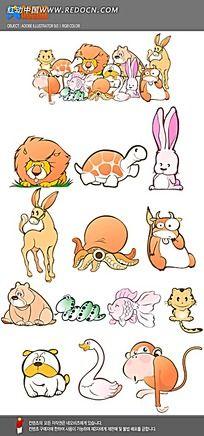 动物手绘图形设计