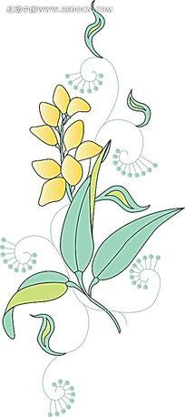 几何花纹手绘图形