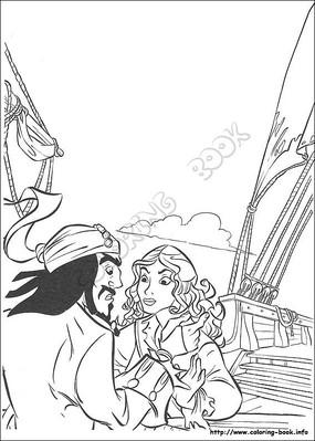 卡通手绘动漫人物女孩