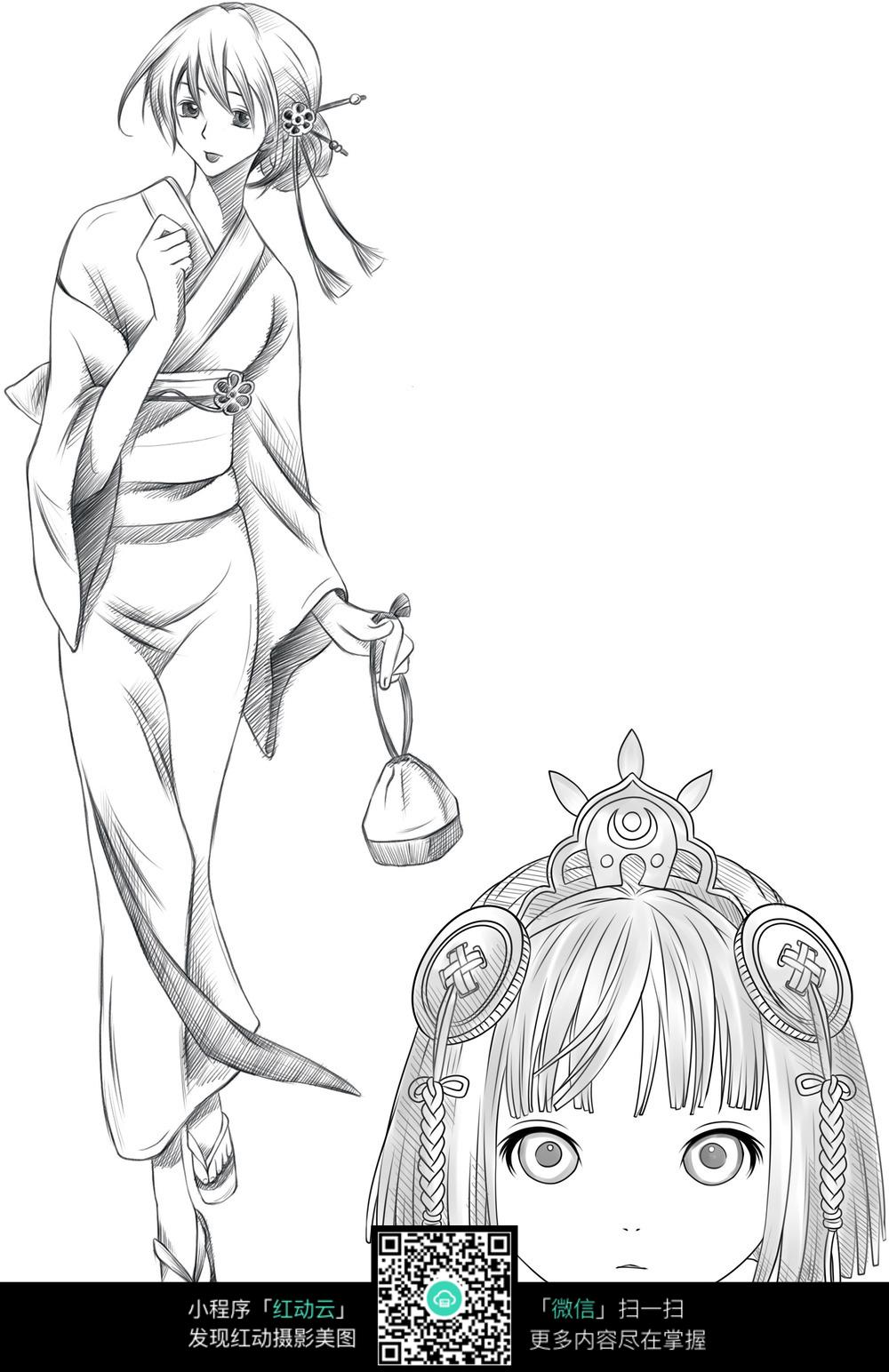 画日本动漫人物教程_日式动漫人物绘画技巧-如何画好日本动漫人物?