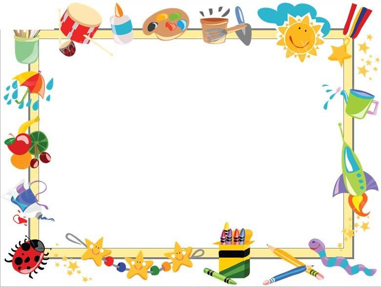 免费素材 ppt模板 ppt模板/ppt图表 其他ppt 卡通图形边框幻灯片模版