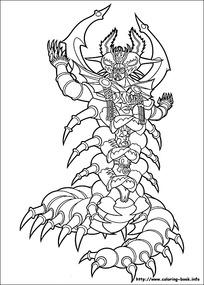 免费flash网站模板_卡通蜈蚣图片_卡通蜈蚣设计素材_红动中国