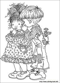 拉小提琴的男孩和弹钢琴的女孩图片