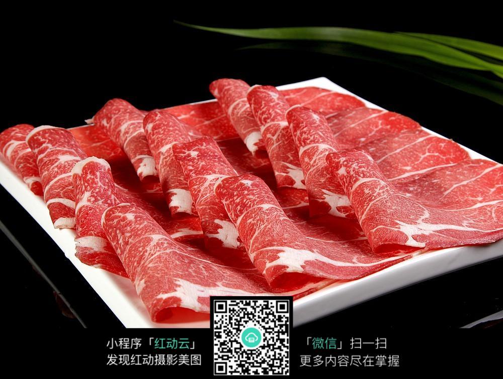 牛羊肉片火锅涮菜