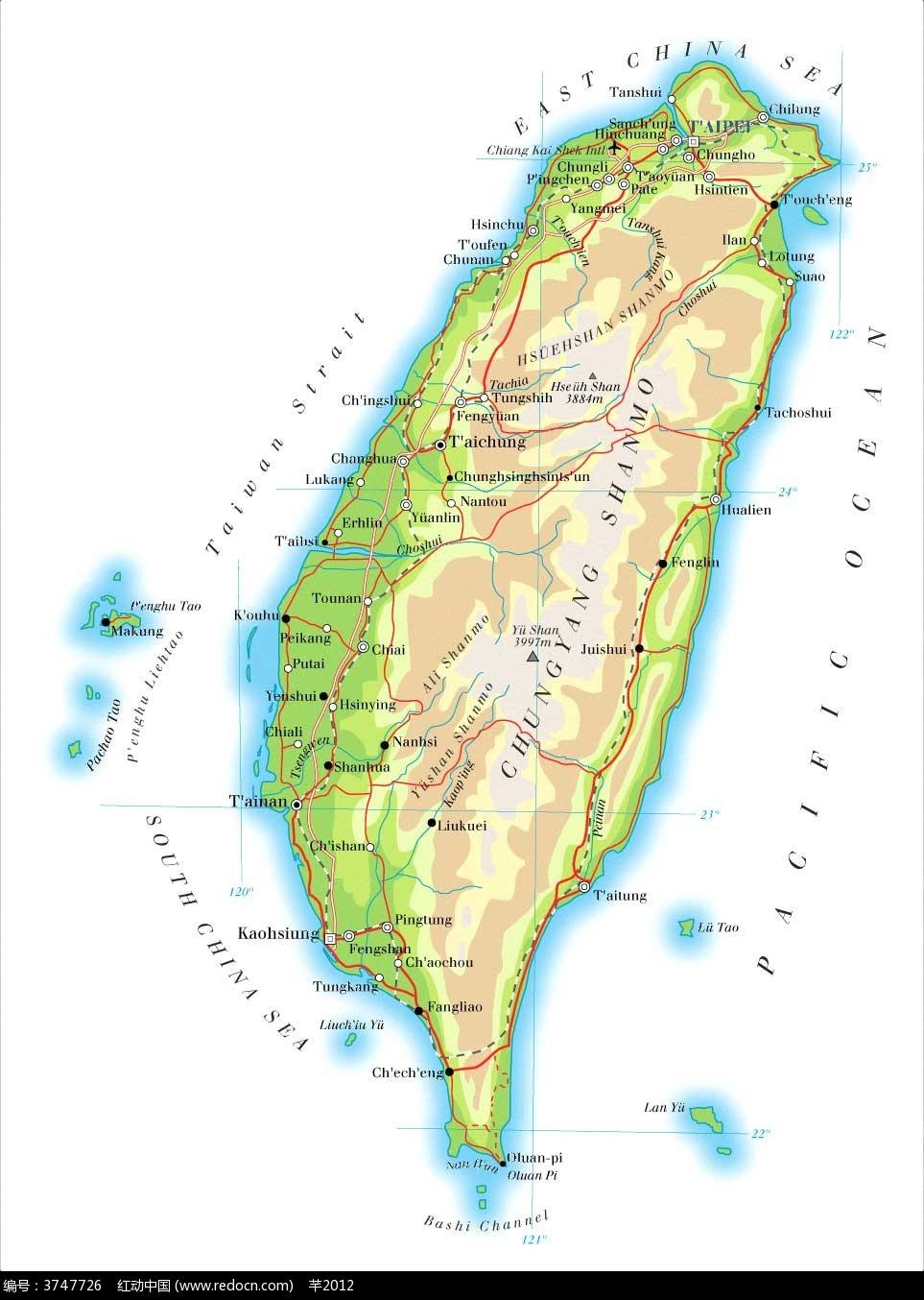 台湾旅游地图大全_台湾旅游资讯_台湾岛旅游网