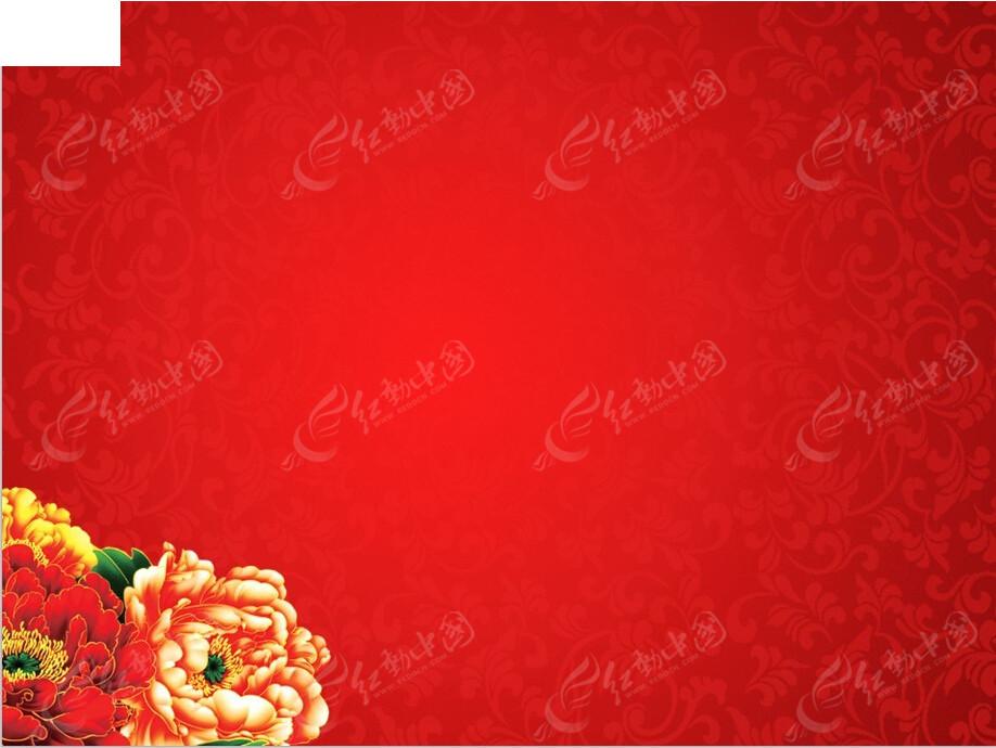 您当前访问素材主题是新年牡丹花纹背景ppt模版,编号是3666840,文件