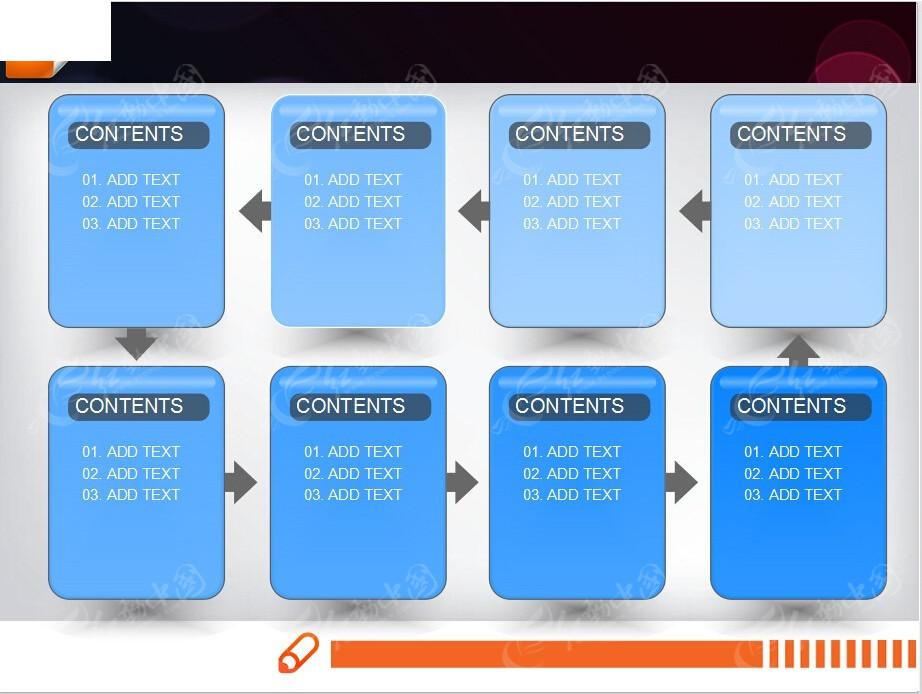 循环ppt流程图素材免费下载_红动网图片